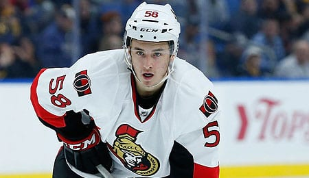 Maxime Lajoie may get more ice time for the Ottawa Senators.