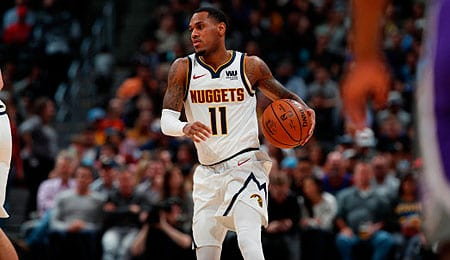 Monte Morris has stepped up for the Denver Nuggets.