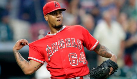 Felix Pena has looked much sharper lately for the Los Angeles Angels.
