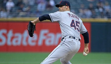 Adam Plutko is cementing his spot in the Cleveland Indians rotation.