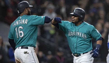 Edwin Encarnacion has been a beast for the Seattle Mariners.