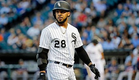 Leury Garcia has shifted to shortstop for the Chicago White Sox.