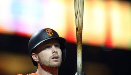 Austin Slater has been producing for the San Francisco Giants.
