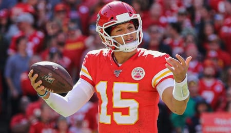 Patrick Mahomes is dealing with a wonky ankle for the Kansas City Chiefs.