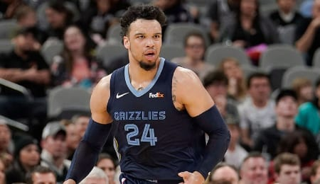 Dillon Brooks is stepping up for the Memphis Grizzlies.