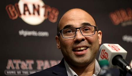 Farhan Zaid is tasked with leading the San Francisco Giants back to respectability.