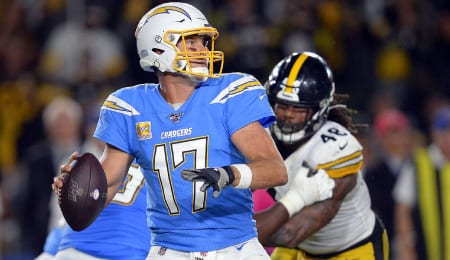 Philip Rivers looked great last weekend for the Los Angeles Chargers.