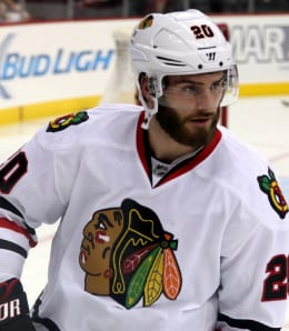 Brandon Saad has picked up his scoring for the Chicago Blackhawks.
