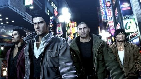 The Yakuza Remastered Collection