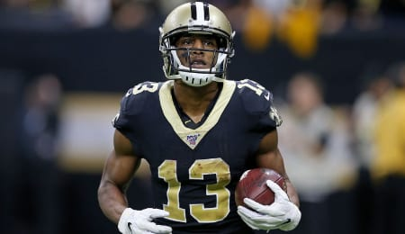 New Orleans Saints Michael Thomas is the clear No. 1 receiver in Fantasy football.