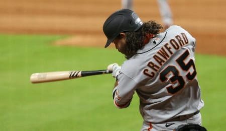Brandon Crawford has seen his role reduced for the San Francisco Giants.