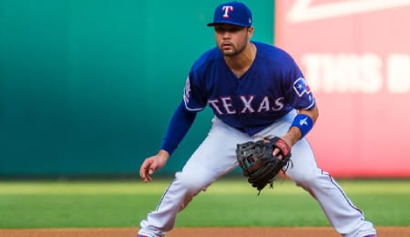 Isiah Kiner-Falefa qualifies at multiple positions for the Texas Rangers.