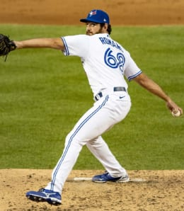 Jordan Romano is now earning saves for the Toronto Blue Jays.
