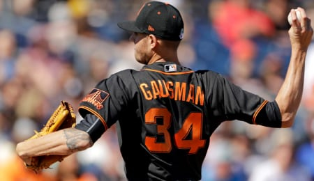 Kevin Gausman is pitching very well for the San Francisco Giants.