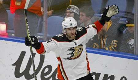 Adam Henrique enjoyed his best season since coming to the Anaheim Ducks.
